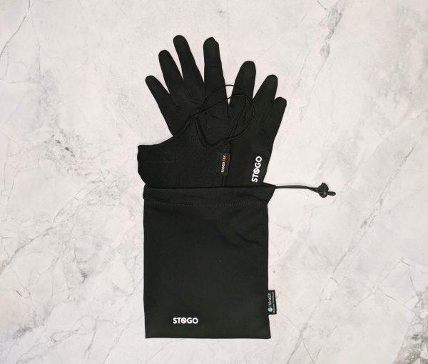 SilverTek mask and STOGO gloves and carry bag
