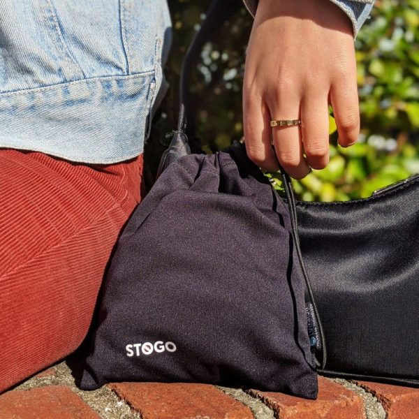 SilverTek STOGO antimicrobial carry bag ViralOff bag for masks