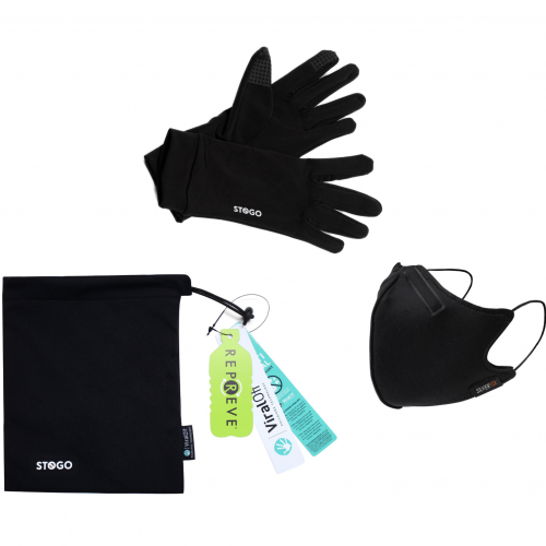 NanoFit Mask, All-Day Gloves and Carry Bag Bundle